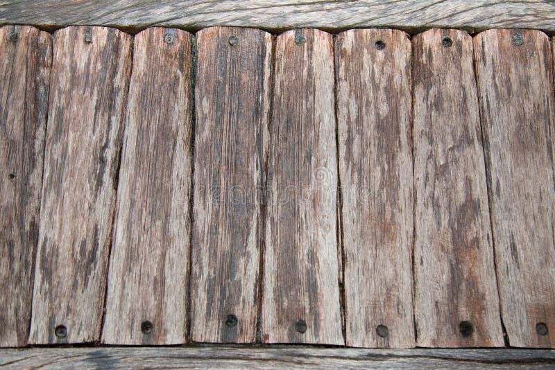 Pięknej sztuki drewniana ścienna tekstura obraz stock