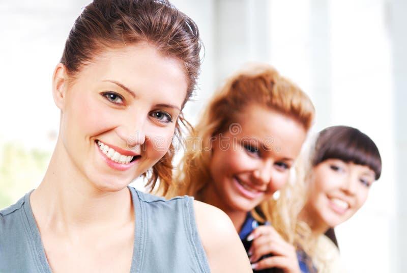 piękni żeńscy ucznie zdjęcie royalty free