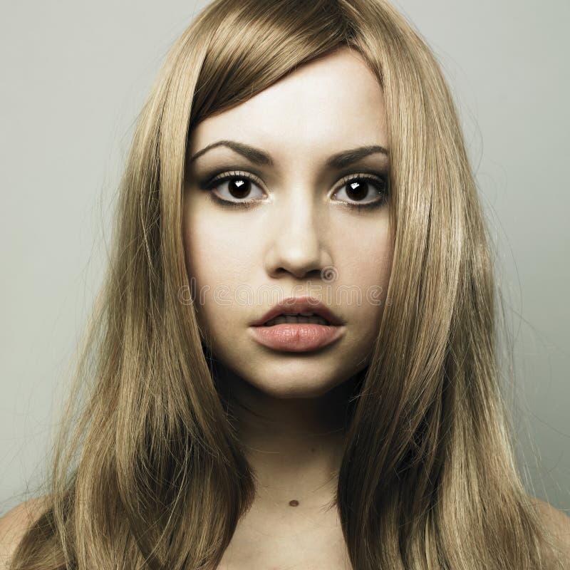 piękni blondynu kobiety potomstwa obraz stock