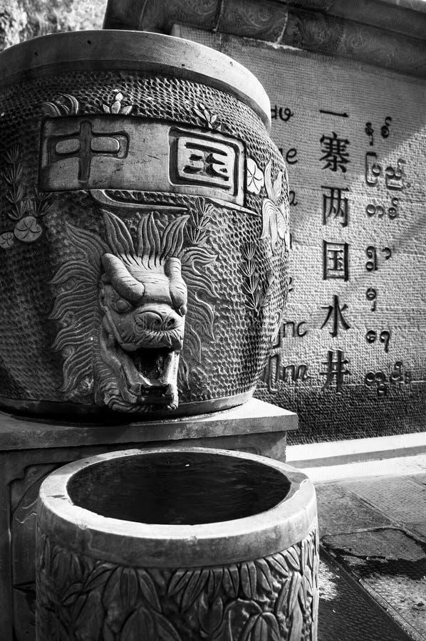 piękni chińscy smoki zdjęcie stock