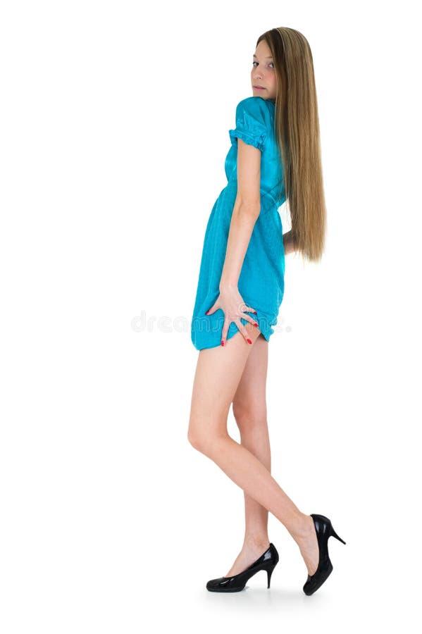 piękni czarny dziewczyny obrazka buty zdjęcia stock