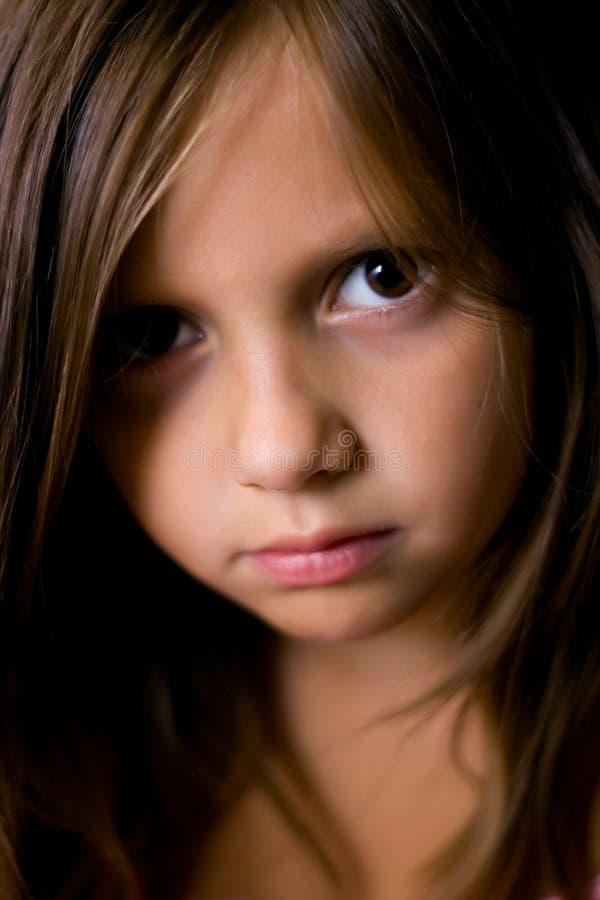 piękni dziewczyny portreta potomstwa fotografia stock
