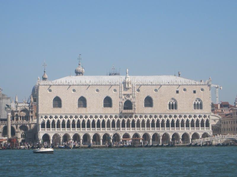 Piękni kościół Wenecja w lecie fotografia stock