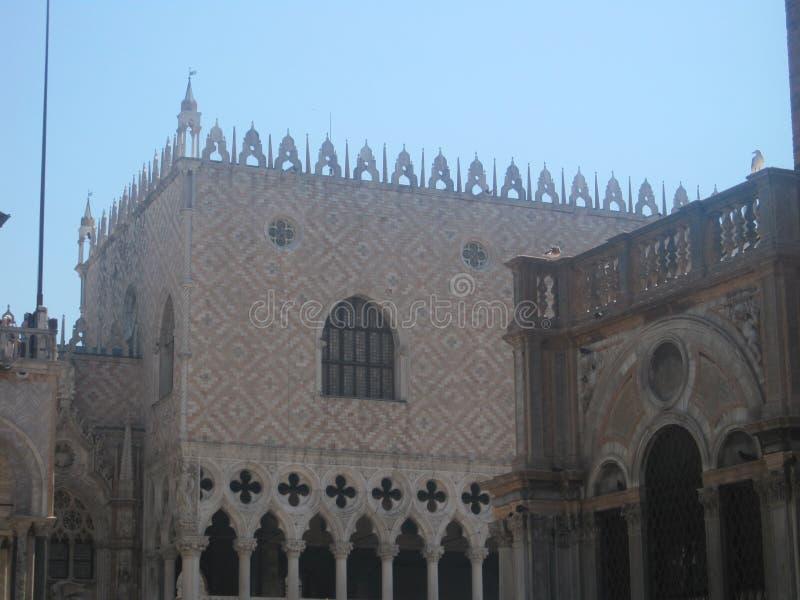 Piękni kościół Wenecja w lecie obrazy royalty free