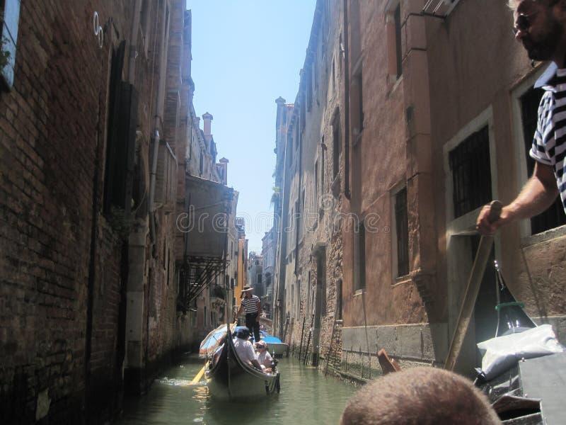 Piękni kościół Wenecja w lecie fotografia royalty free