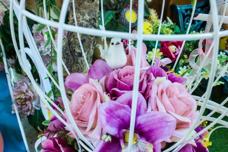Piękni kolory różany klingeryt fotografia stock