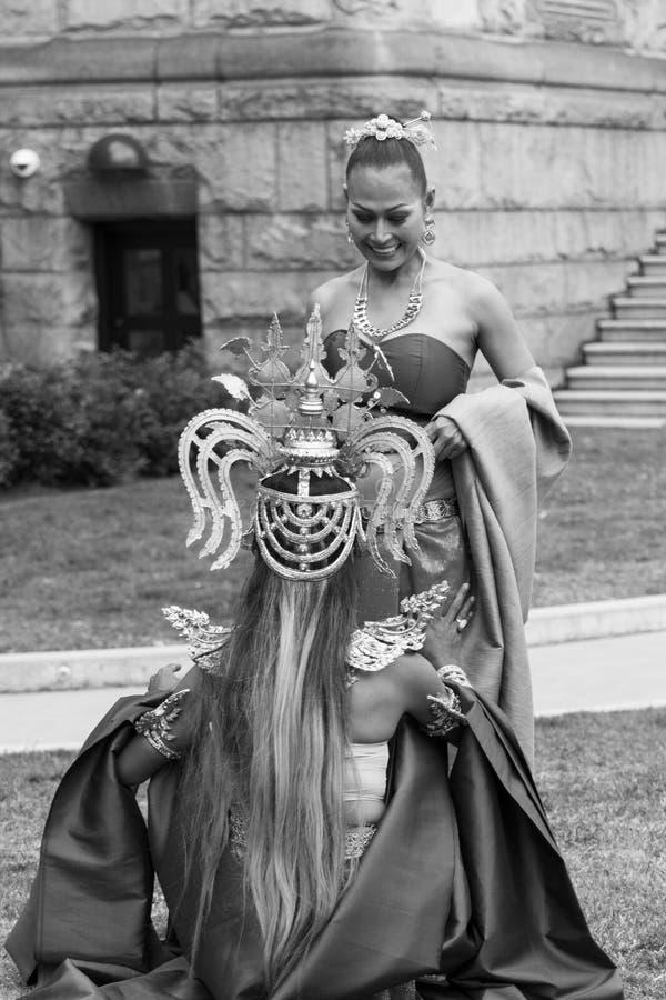 Piękni ludzie zdjęcie royalty free