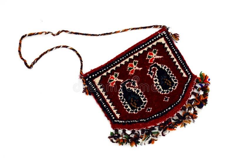 Piękni Orientalni Tureccy handmade dywaniki na białym tle zdjęcie stock