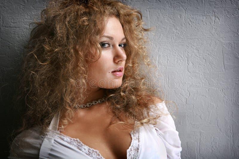 piękni portreta kobiety potomstwa fotografia royalty free