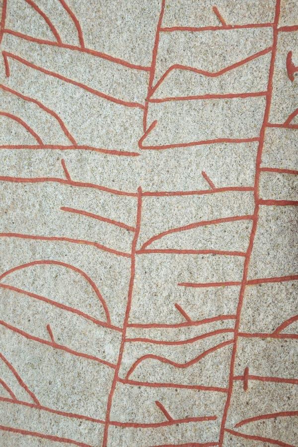 Piękni runes obraz royalty free