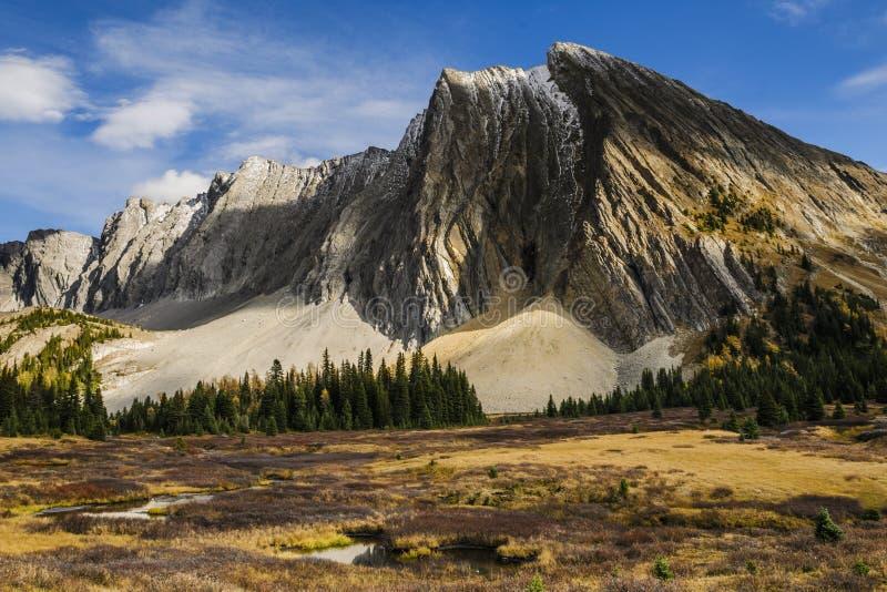 Piękni spadek góry krajobrazy obrazy royalty free