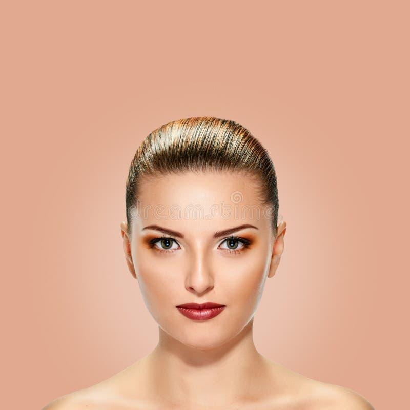 piękni twarzy kobiety potomstwa obrazy stock