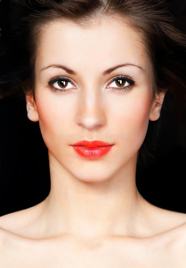piękni twarzy s kobiety potomstwa obrazy royalty free