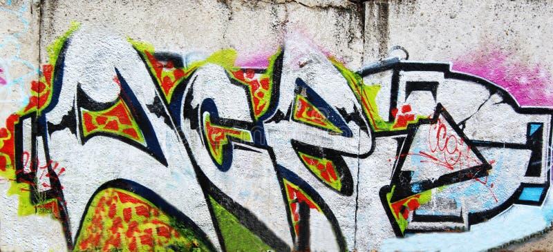 Piękni uliczni sztuka graffiti Abstrakt kreatywnie obrazy stock