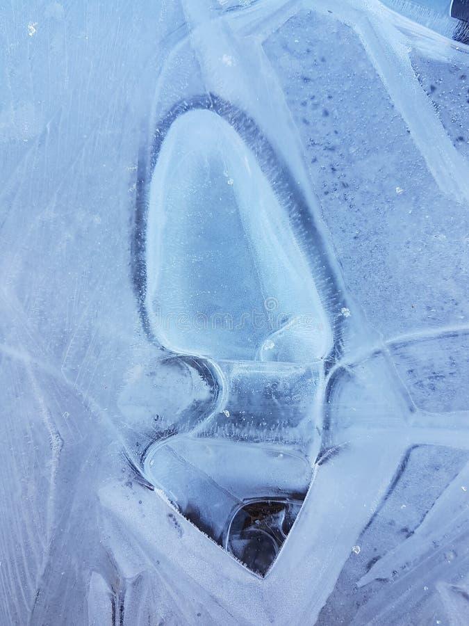 Piękni wizerunki lód, woda i ziemia w cañadas Del Teide, Tenerife 5 obraz stock