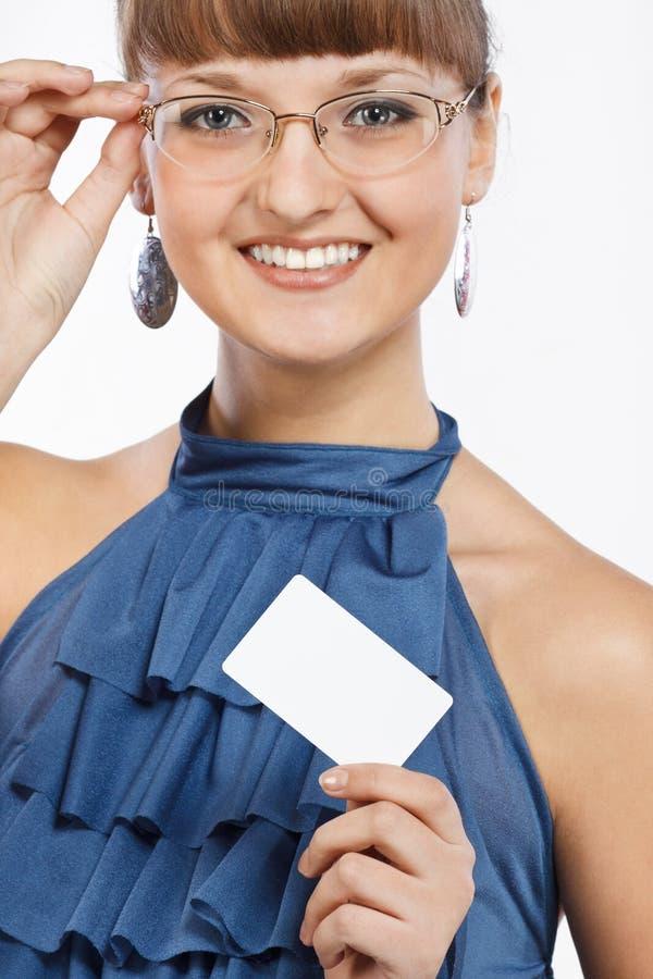 piękni wizytówki dziewczyny przedstawienie target2186_0_ potomstwa fotografia royalty free