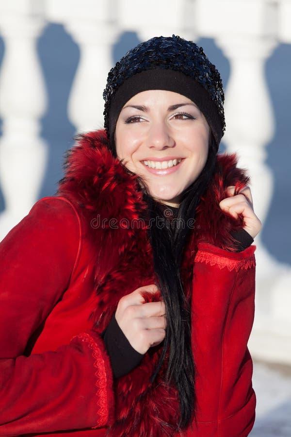 piękni zima kobiety potomstwa zdjęcia stock