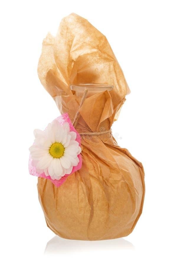 Pięknie dekorująca karafka zdjęcie royalty free
