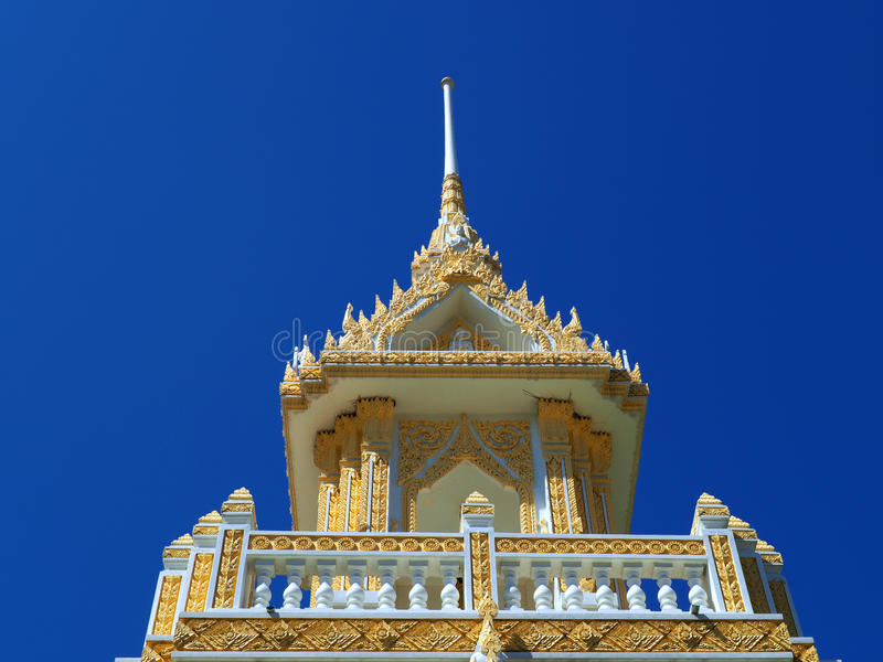 Pięknie wykonujący ręcznie crematorium pawilon zdjęcie royalty free