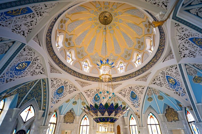 Piękno ściany i łuki meczetowy Kula Sharif fotografia royalty free