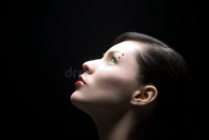 piękno 4 profil fotografia stock