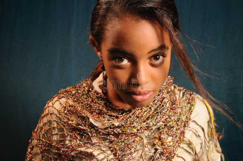 Piękno Afrykańskiej Bezpłatny Obraz Stock