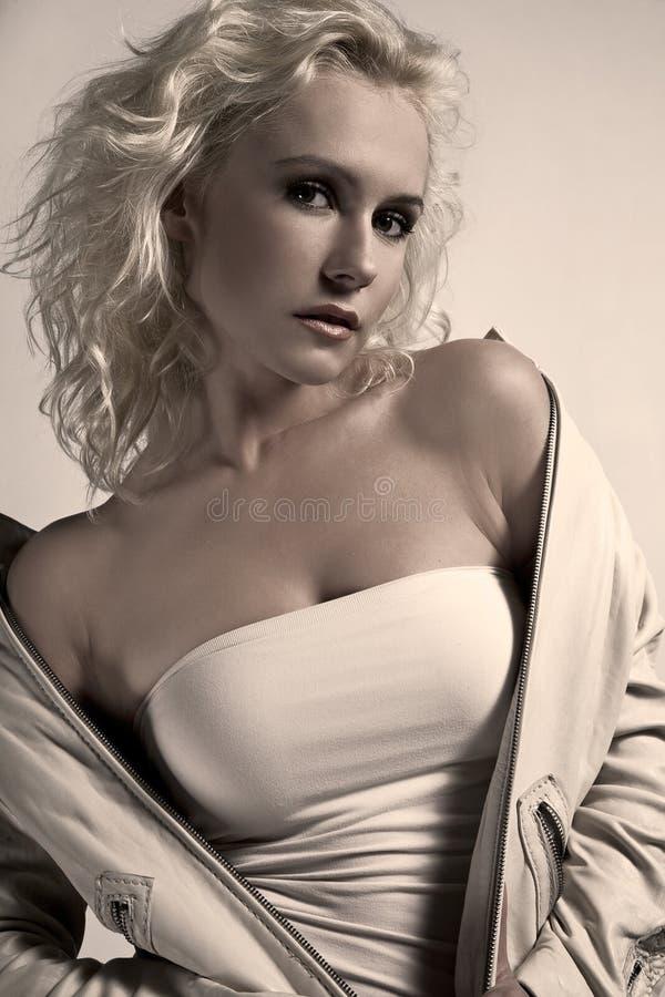 piękno blondyny zdjęcie stock