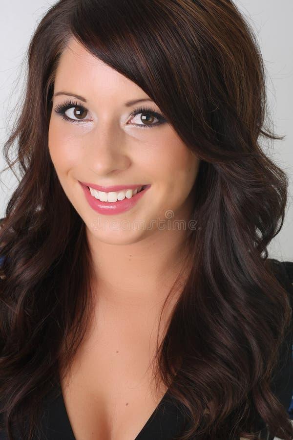 piękno brunetka fotografia stock