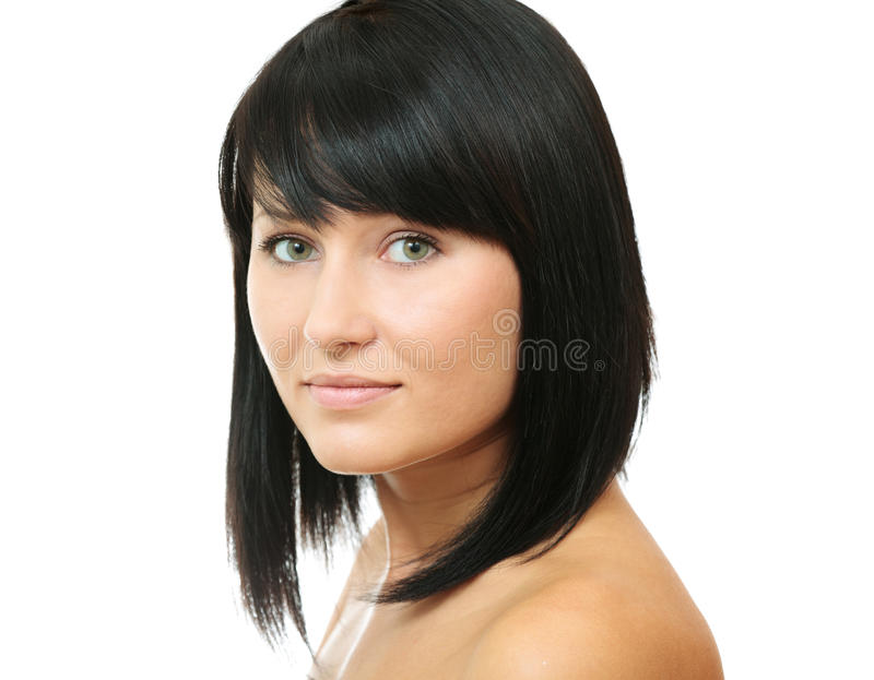 piękno brunetka fotografia royalty free