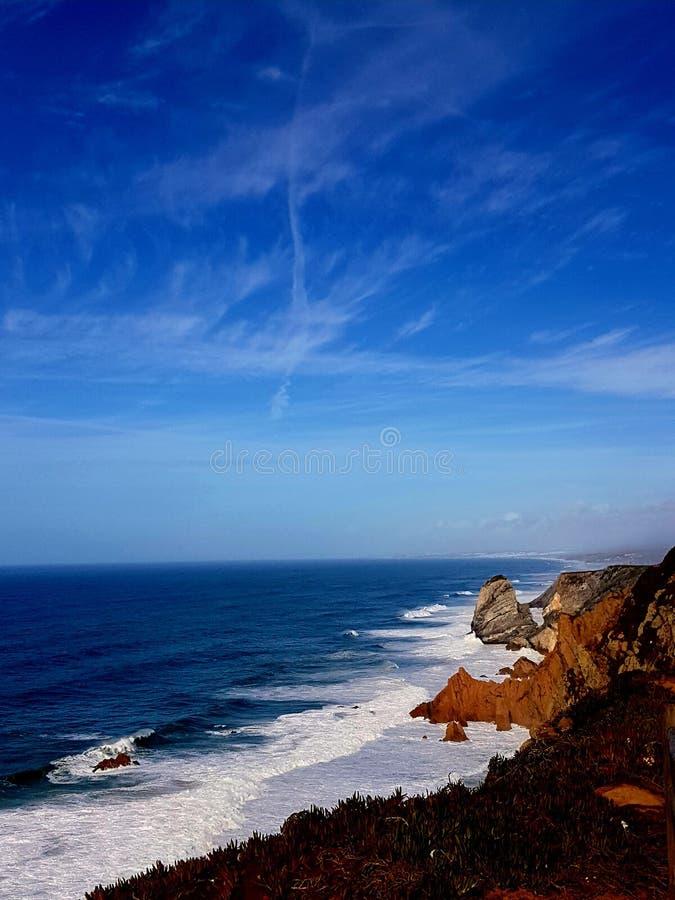Piękno Cabo da Roca obraz stock