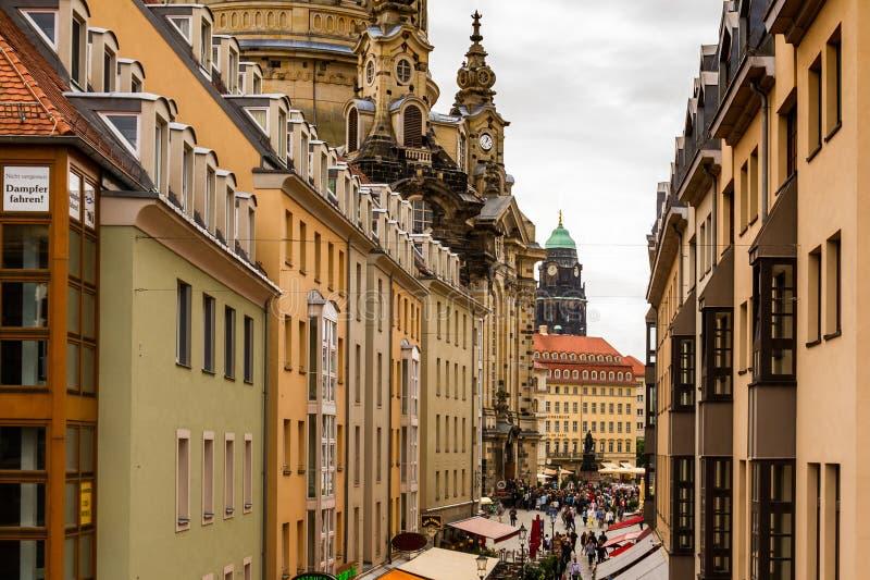 Piękno Drezdeński, Niemcy obraz royalty free