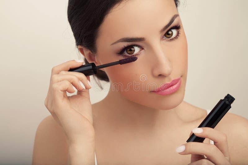 Piękno i makeup obraz royalty free