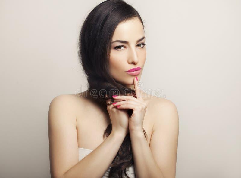 Piękno i makeup obrazy royalty free