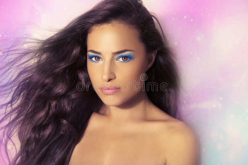 Piękno i makeup zdjęcia royalty free