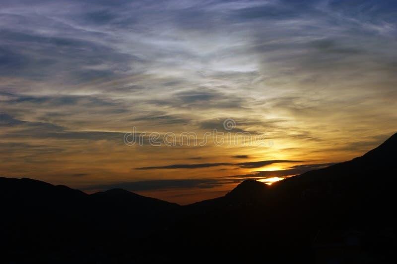 Piękno jest w niebie zdjęcie royalty free