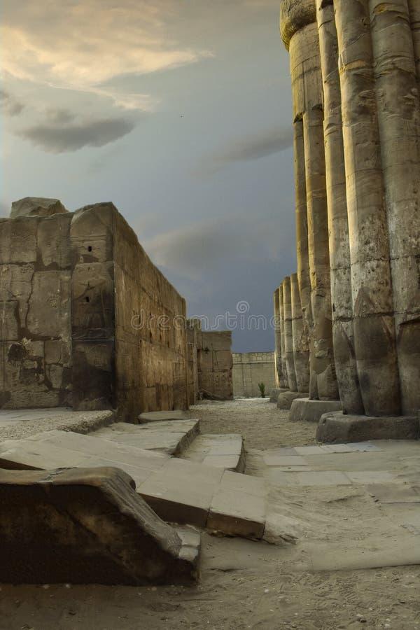 PiÄ™kno Luxor obraz royalty free