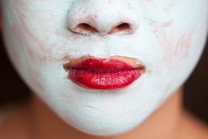 Piękno maska obrazy royalty free