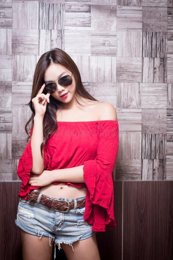 Piękno mody kobieta zdjęcie stock