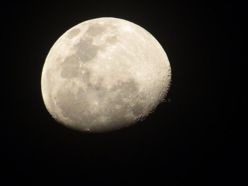 Piękno nocy księżyc zdjęcie stock