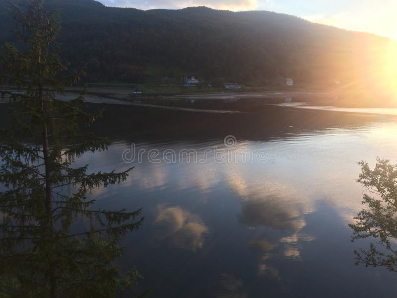 Piękno Norwegia fotografia stock