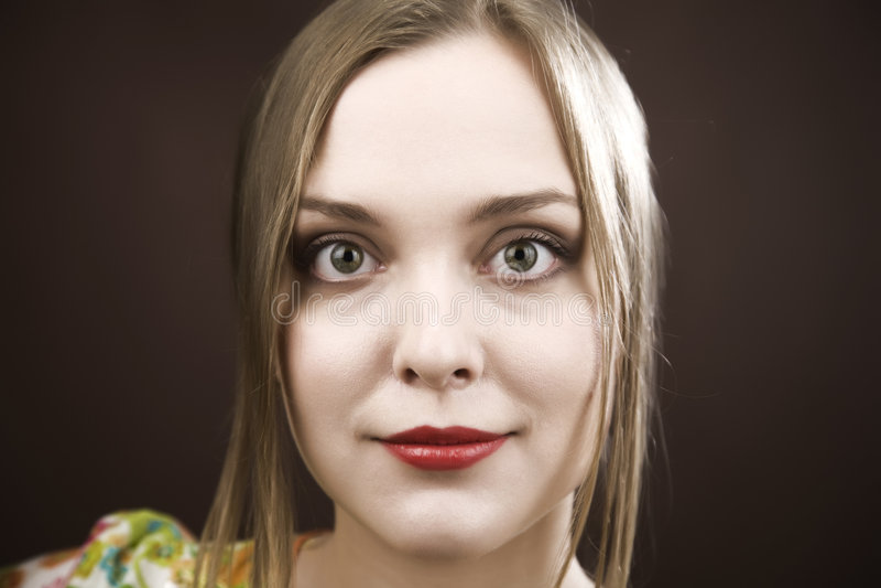 piękno portret kobiety zdjęcia stock