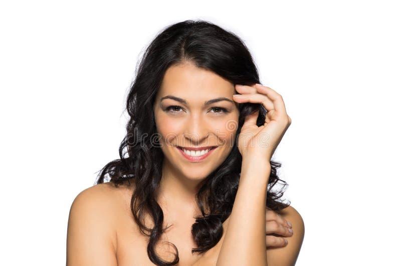 Piękno portret Piękna kobieta zdjęcie stock