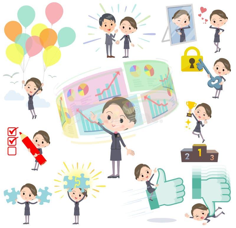 Piękno pozytyw & royalty ilustracja