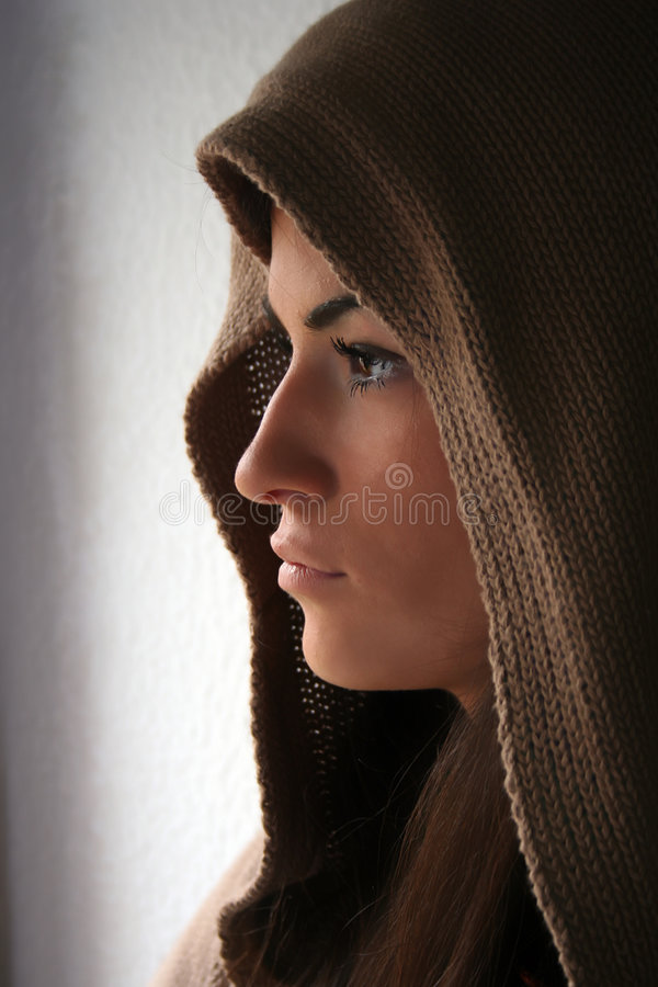piękno profil obrazy royalty free
