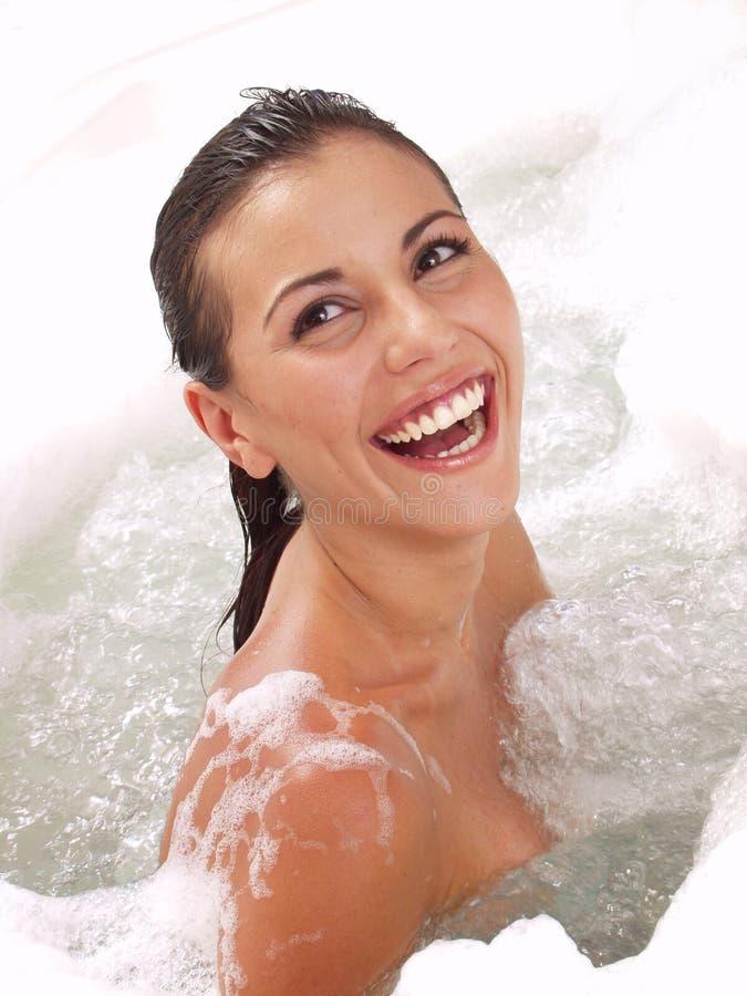 piękno prysznic bierze kobiety zdjęcia stock