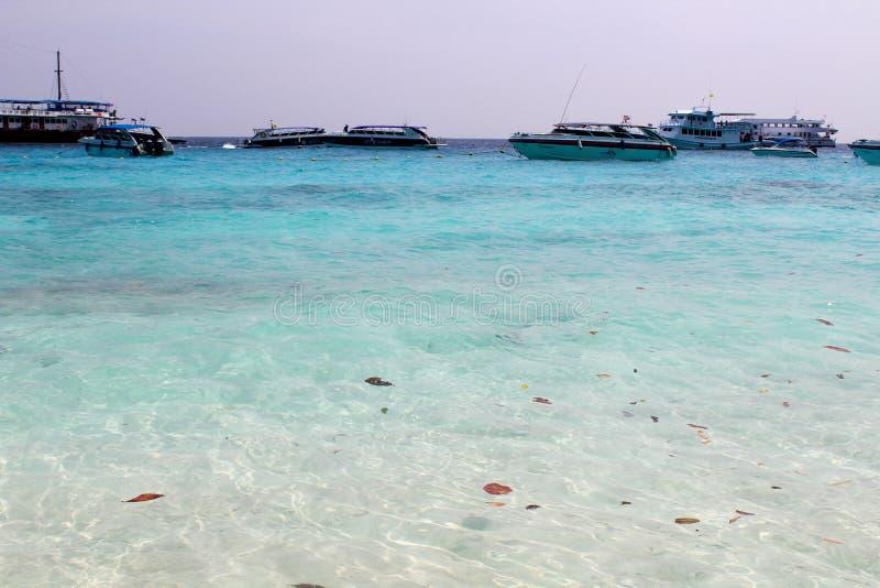 Piękno Semilon wyspy zdjęcia stock