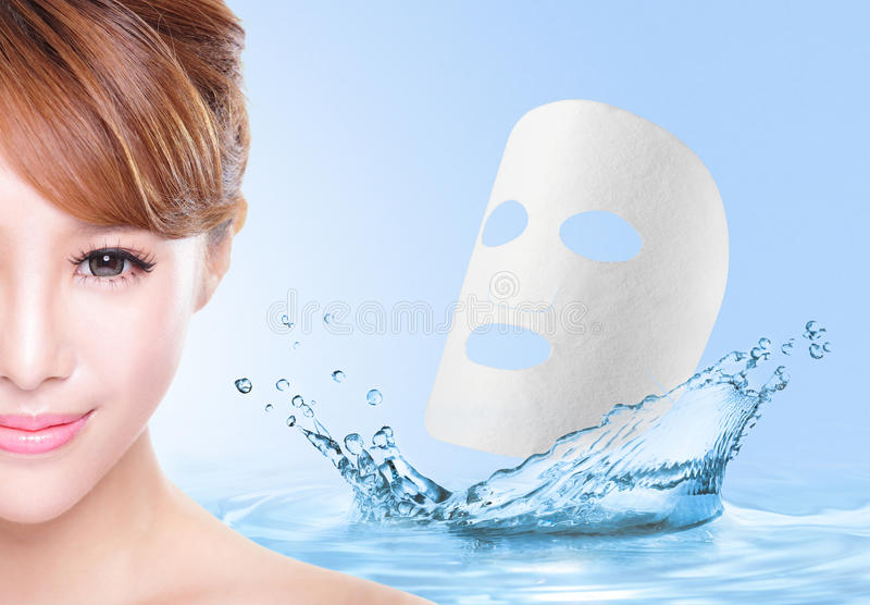 Piękno skóry opieki pojęcie zdjęcia royalty free