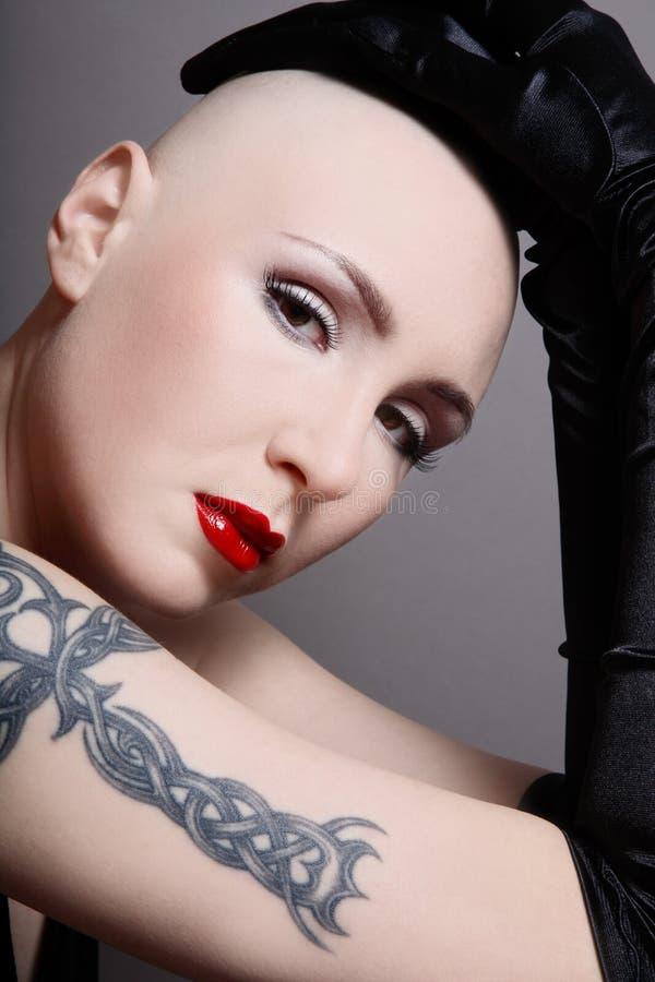 piękno skinhead fotografia royalty free
