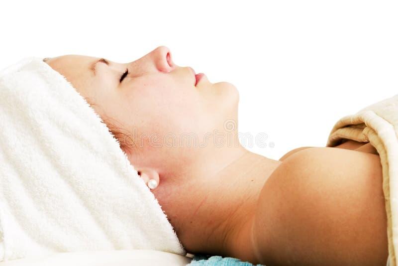 piękno spa twarzy zdjęcie royalty free