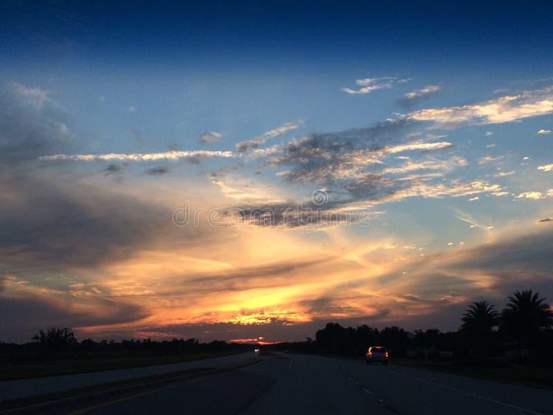 Piękno spadku niebo obraz royalty free